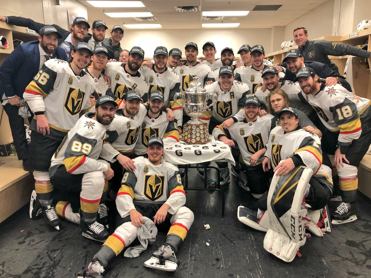 5e1bbb5b0 Stanley Cup Bound  The Vegas Golden Knights Defy Logic   Win 12 15 Games  For the Right To Contend For the Holy Grail