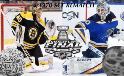 bfd2df807a4 BCBS For 5/22: A Historic Stanley Cup Final is Set Between The Bruins & The  Blues, The 1970 SCF, Legendary Goaltending, A SCF That Gives The  Middle-Finger ...